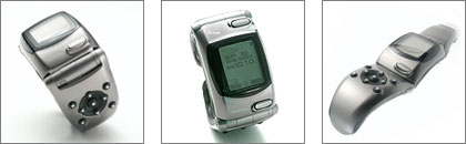 "image_58843_superimage NTT DoCoMo to Market ""WRISTOMO,"" Wristwatch-style PHS Mobile Phone"
