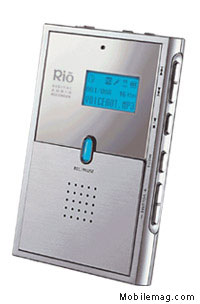 image_59079_largeimagefile Sonic Blue Japan Unveils The Rio DR30 World's Thinnest MP3 Player/Recorder
