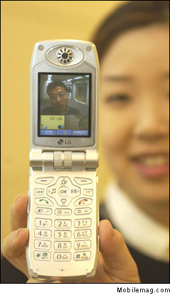 image_59196_largeimagefile LG-K8100 Dual mode handset supports WCDMA and cdma2000 1x