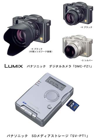 image_59756_largeimagefile Matsushita Electric (Panasonic) Introduces New LUMIX Digital Still Camera Models and Other SD-Related Products