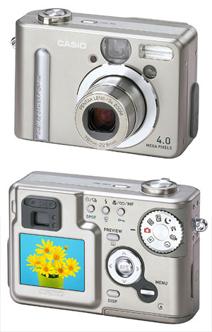 image_60254_largeimagefile Casio to Release The QV-R4 4 Mega-Pixel Digital Camera for Grab Shots