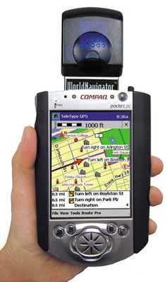 image_61987_largeimagefile Teletype Introduces the First Totally Wireless Compact Flash GPS System for Pocket PCs