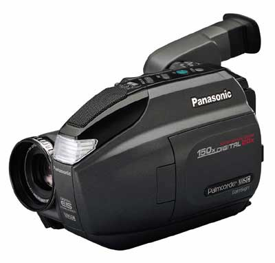 image_62966_largeimagefile Panasonic Introduces New VHS-C Palmcorder Camcorders