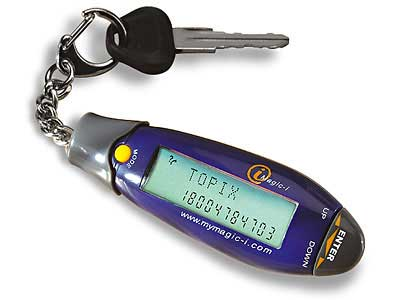 image_63983_largeimagefile Magic-I Mini Keychain Data Bank