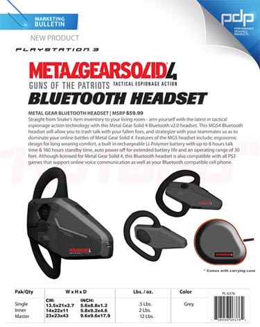 image_8744_largeimagefile The Official Metal Gear Solid 4 Bluetooth Headset
