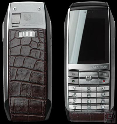 image_8921_largeimagefile Tag Heuer Builds $7,000 Cell Phone With Crocodile Back