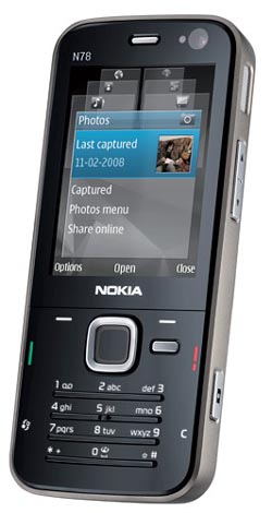 image_9676_largeimagefile AT&T Gets Ready to Nab Nokia N78 Smartphone Candybar