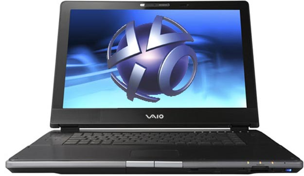 Touchscreen Sony VAIO Notebooks with PSN Integration