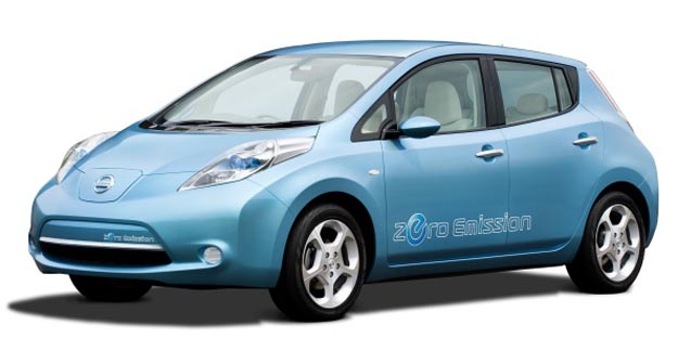 Nissan Leaf EV Hits Retail Channels in 2010
