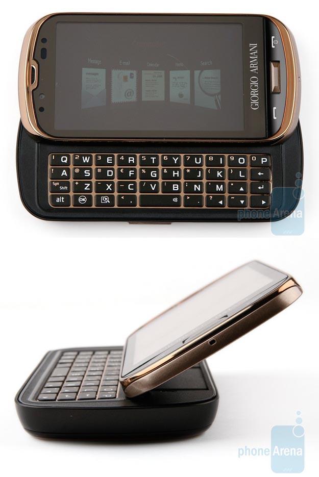 Samsung Giorgio Armani Smartphone with Windows Mobile 6.5
