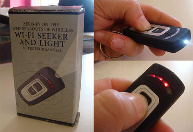 Light Up a Hotspot with Wi-Fi Seeker and Light