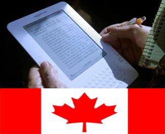 Canada Finally Gets Hands on Amazon Kindle eBook Reader