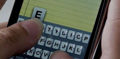 Video: Another Tactile Keyboard Idea for the iPhone