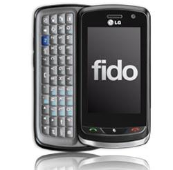 Fido Gains LG Xenon Touchscreen QWERTY Phone