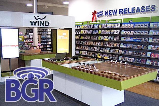 First Look: Wind Mobile Kiosk Inside Blockbuster Store