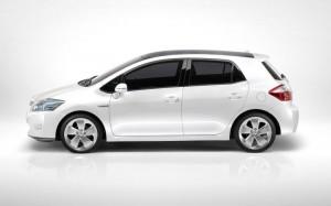 2010 Toyota Auris Hybrid Concept