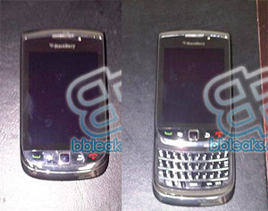 BlackBerry Slider phone