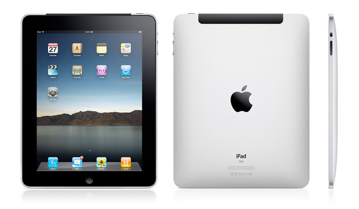 Apple iPad with multiple views