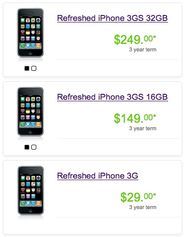 "Telus offers ""Refreshed"" iPhones"