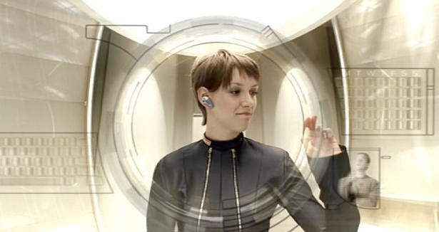 A UK television spot for Dixons uses a Minority Report style interface for motion gesture-based interaction.