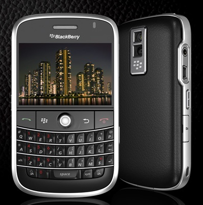 RIM's popular BlackBerry Bold QWERTY candybar
