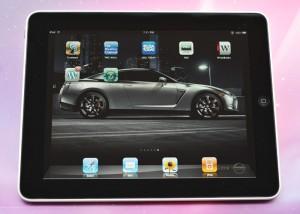 Apple iPad Interface - Photo: Fabrizio Pilato