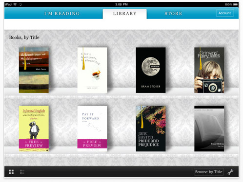 Kobo eReader for the Apple iPad
