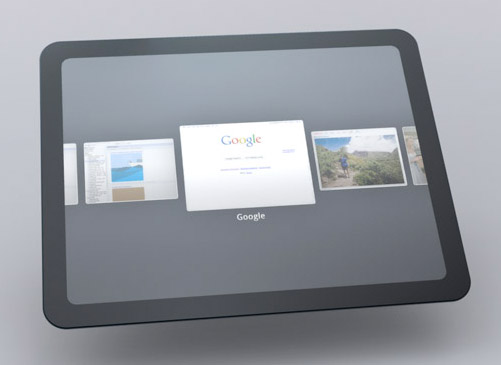 Google Android Tablet Prototype