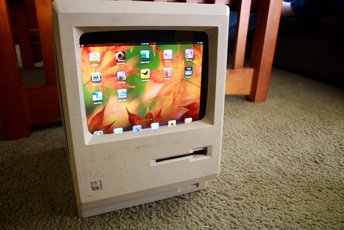 Old Schol Mac to iPad conversion Photo: Flickr