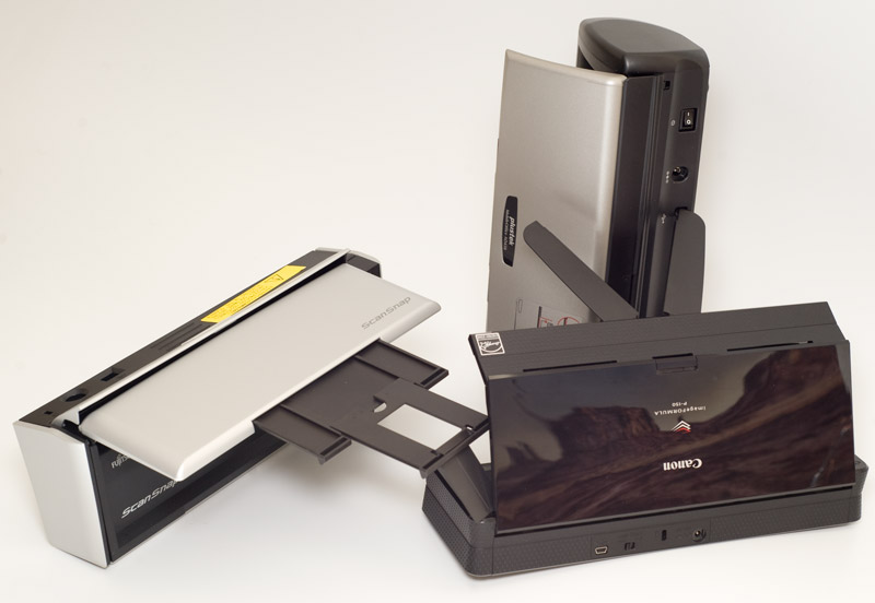 Three mobile scanners tested and reviewed Photo: Mobile Magazine