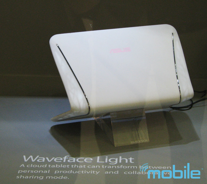 Asus Waveface Light Concept Photo: Michael Kwan