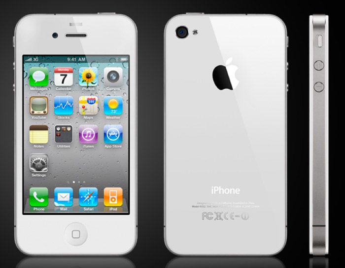 Apple iPhone 4 in White sees delay