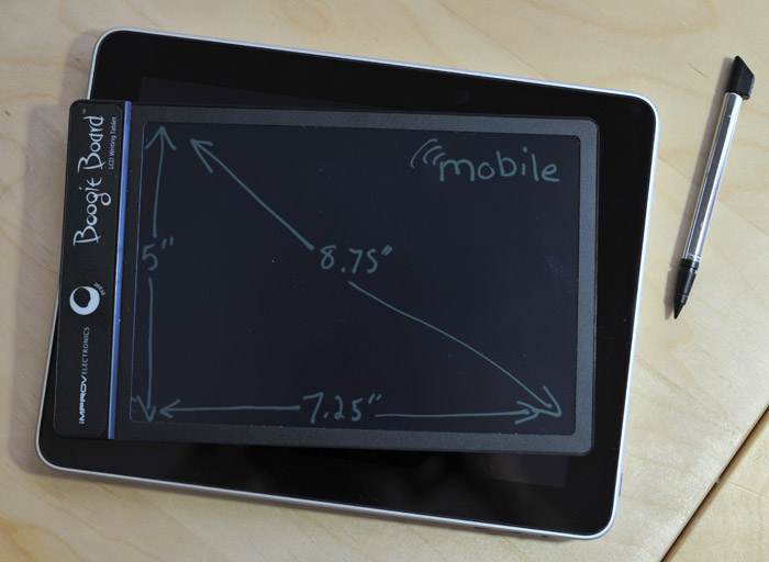 boogie board lcd writing tablet review