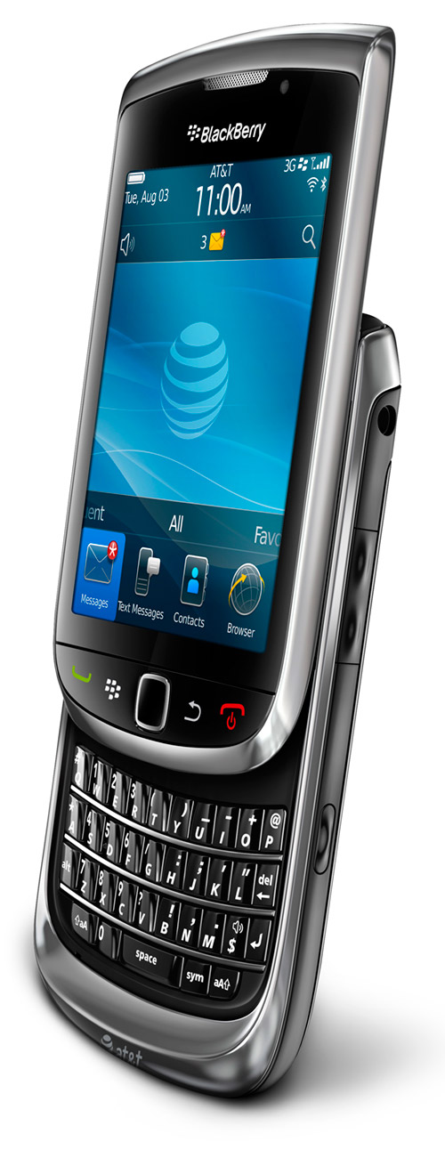 "RIM BlackBerry Torch 9800 headed for AT&T and Canada ""soon"""