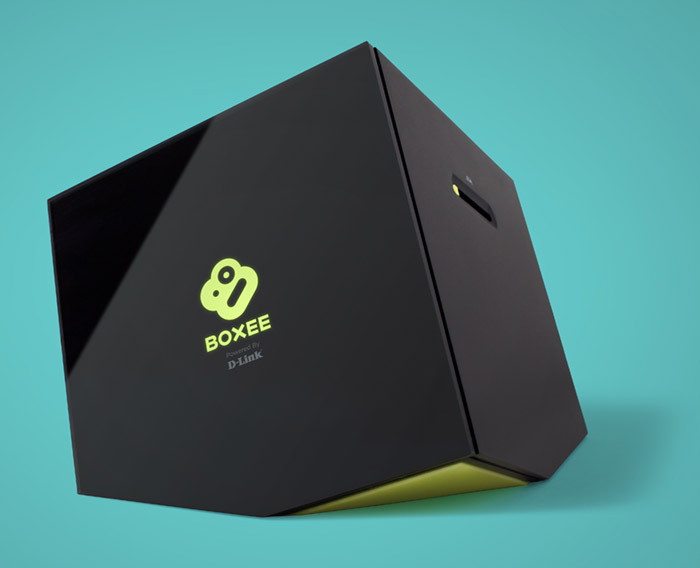 Dlink Boxee Box media streaming device