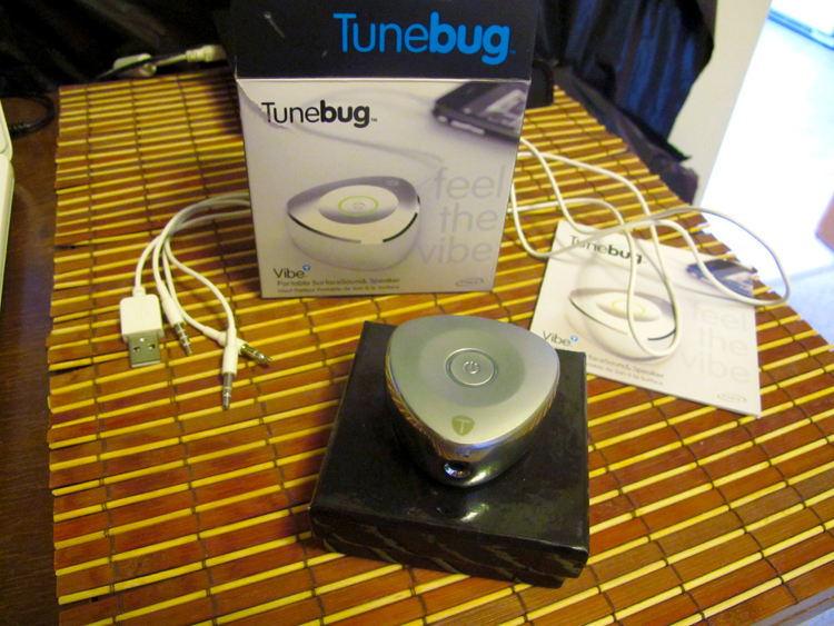 The unboxing of the Tunebug Vibe