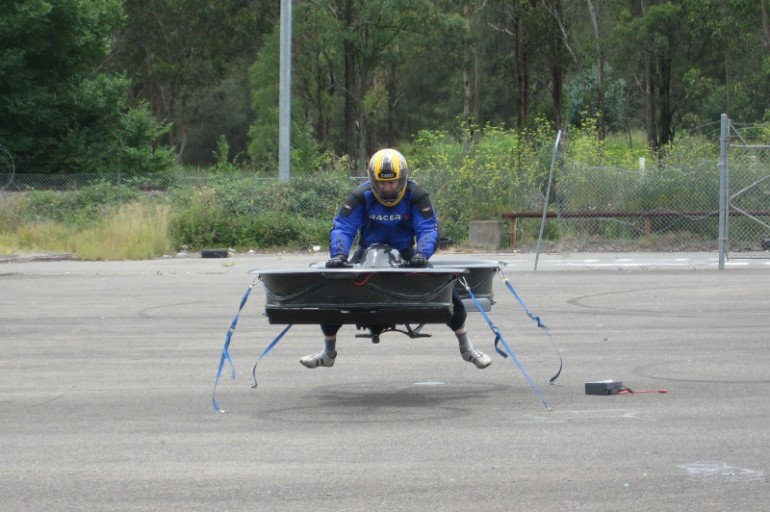 hoverbike-10 Hoverbike Prototype Could Fly up to 10,000 Feet