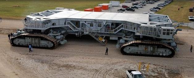 NASA space shuttle transporter