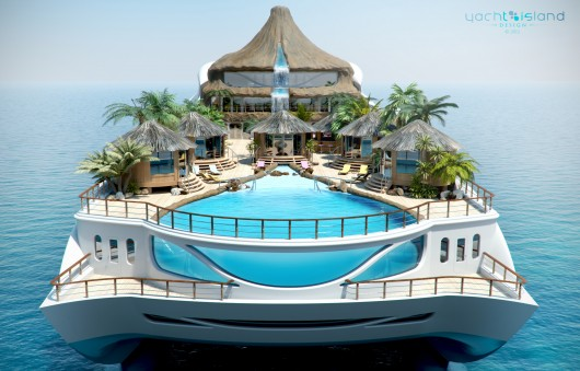 floating island yacht
