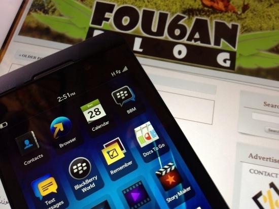 BlackBerry10Z10