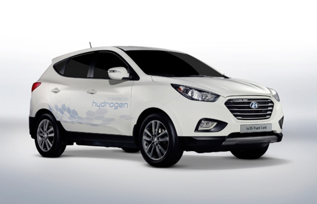 Hyundai Promises 1000 Hydrogen Fuel Cell Cars By 2015