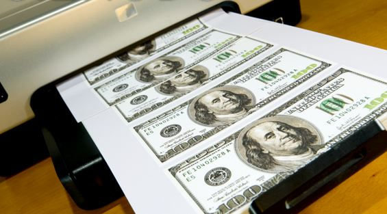 Returning a Printer with Funny Money Inside