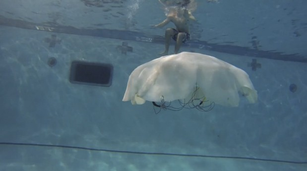 Video: Cyro Jellyfish Drone Prepares to Invade the Oceans