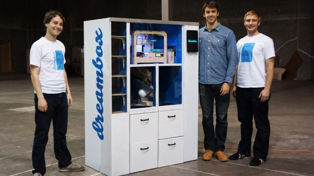 Dreambox is a 3D Printer Vending Machine