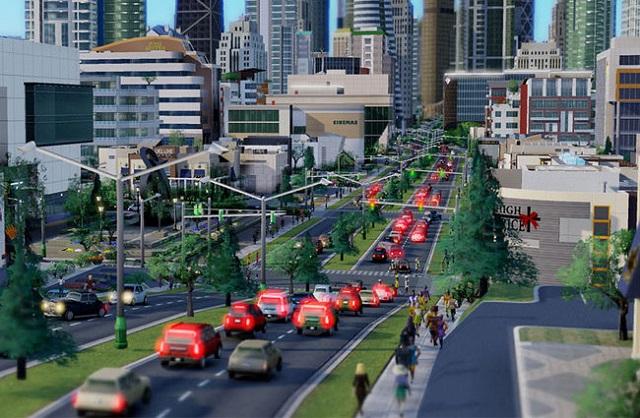 SimCity-Servers