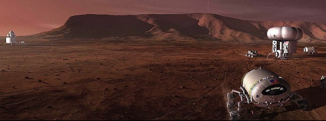 Mars-manned-mission-dust
