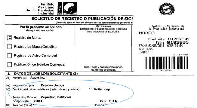 apple-mexico-iwatch-trademark