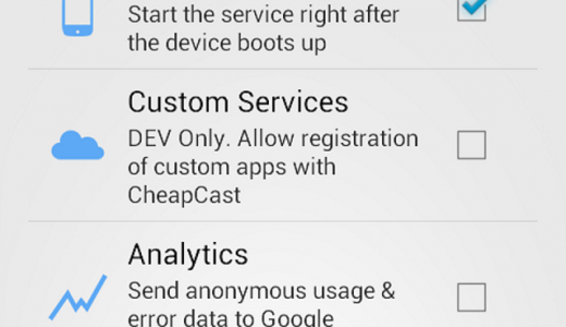cheapcast-screenshot
