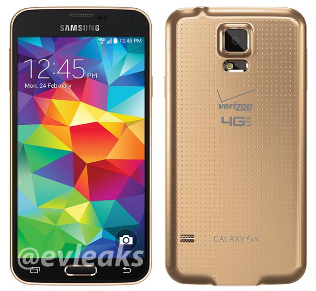 Verizon-galaxy-s5-gold-leak