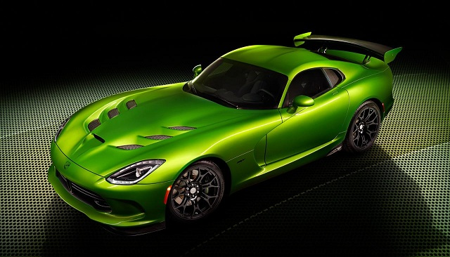 SRT-Viper-with-Stryker-Green-paint Mobile Magazine